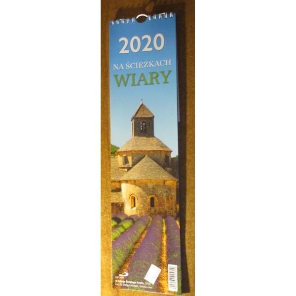 KALENDARZ 2020 NA ŚCIEŻKACH WIARY
