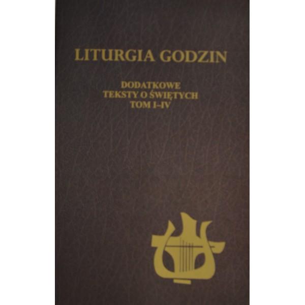 LITURGIA GODZIN DODATKOWE TEKSTY