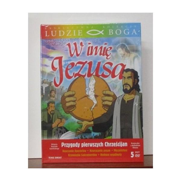 W IMIĘ JEZUSA PRZYGODY PIERWSZYCH CHRZEŚCIJAN 5 PŁYT DVD