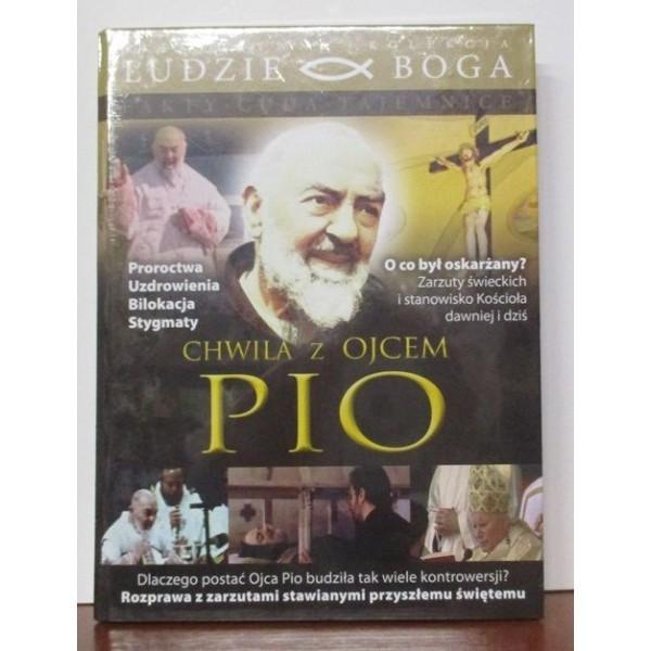 CHWILA Z OJCEM PIO KSIĄŻKA +DVD