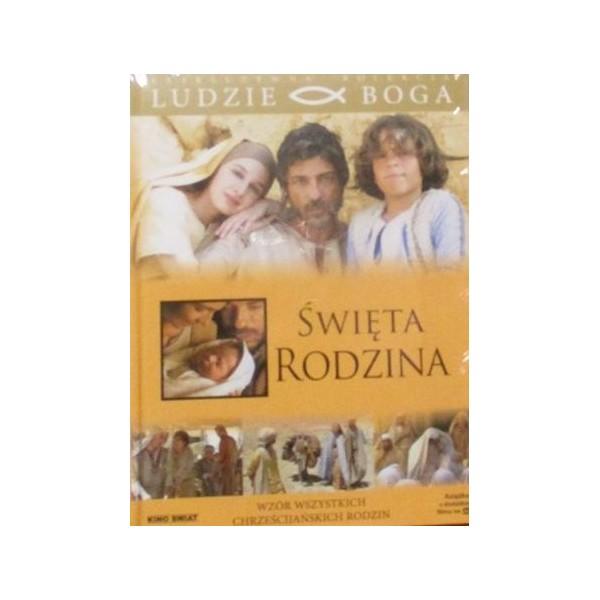 ŚWIĘTA RODZINA KSIĄŻKA Z FILMEM DVD