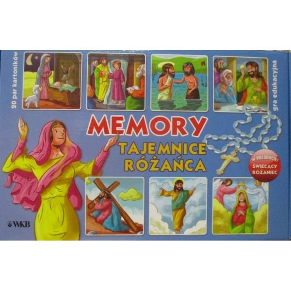TAJEMNICE RÓŻAŃCA GRA EDUKACYJNA MEMORY