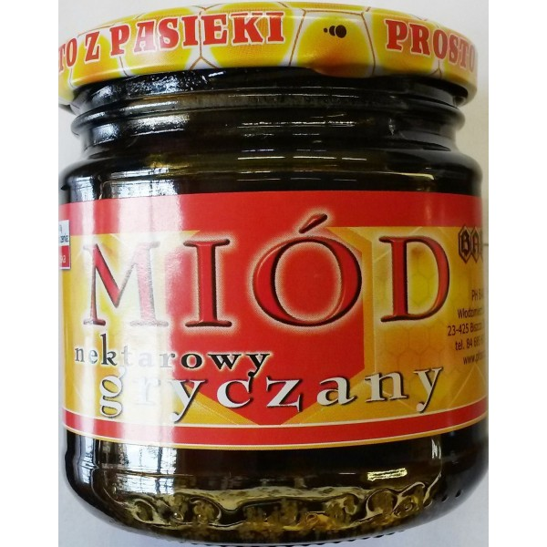 MIÓD GRYCZANY 250G/BARĆ/