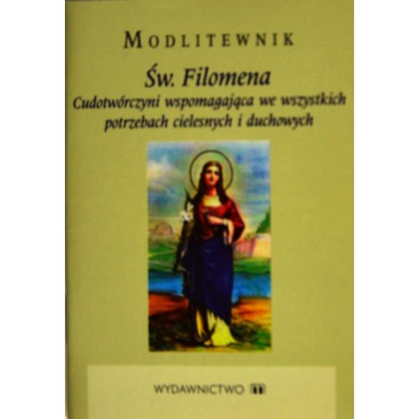 MODLITEWNIK ŚW.FILOMENA