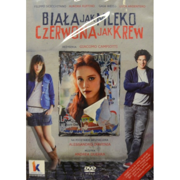 BIAŁA JAK MLEKO CZERWONA JAK KREW DVD