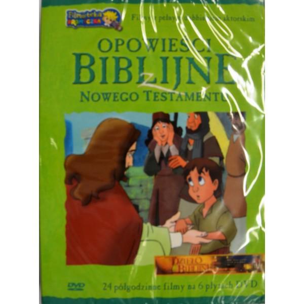 OPOWIEŚCI BIBLIJNE NOWEGO TESTAMENTU (BOX 6 PŁYT - DVD)