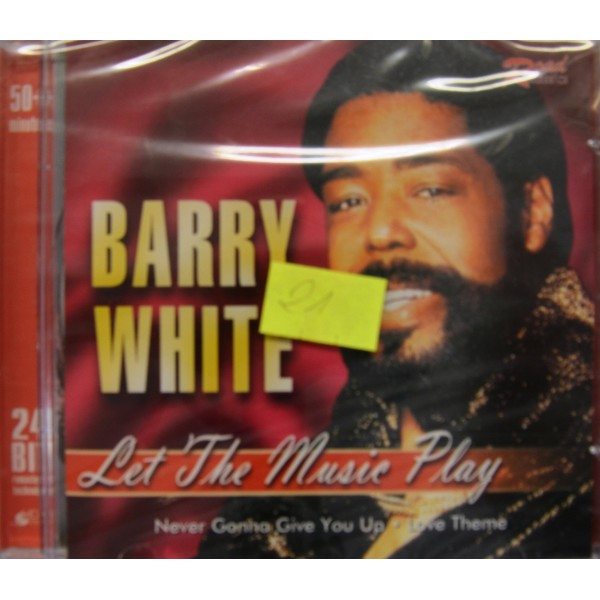 CD BARRY WHITE