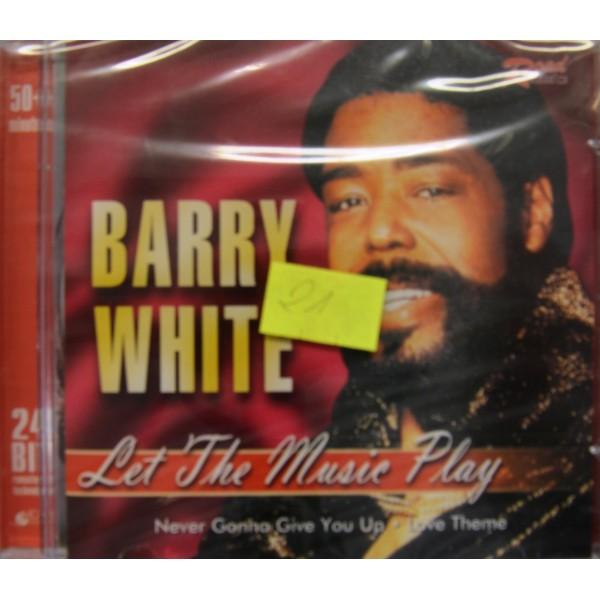CD BARRY WHITE