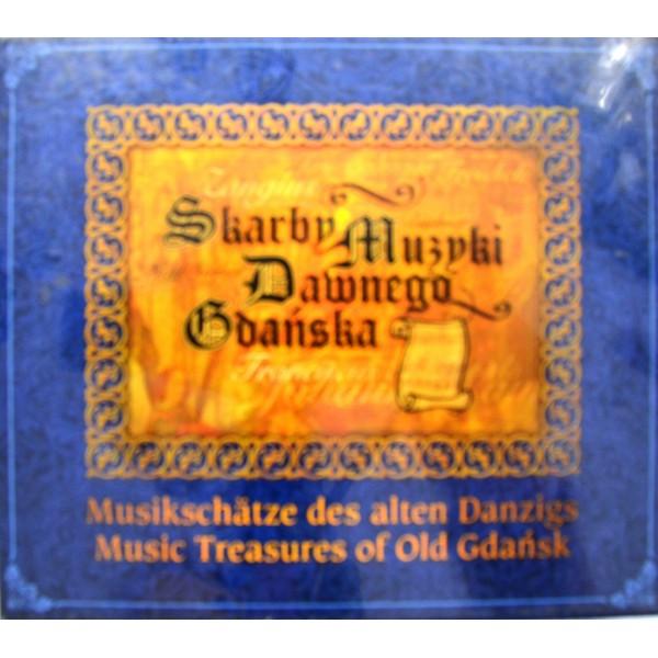 CD SKARBY MUZYKI GDAŃSKIEJ