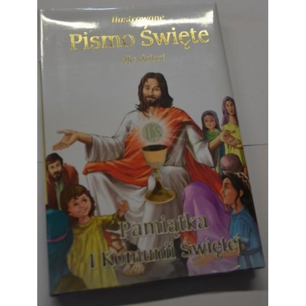 Ilustrowane Pismo Święte dla dzieci.