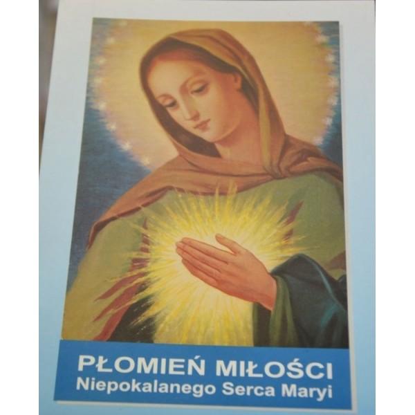 Płomień miłości Niepokalanego Serca Maryi