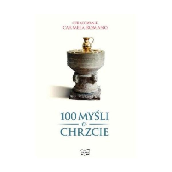 100 MYŚLI O CHRZCIE