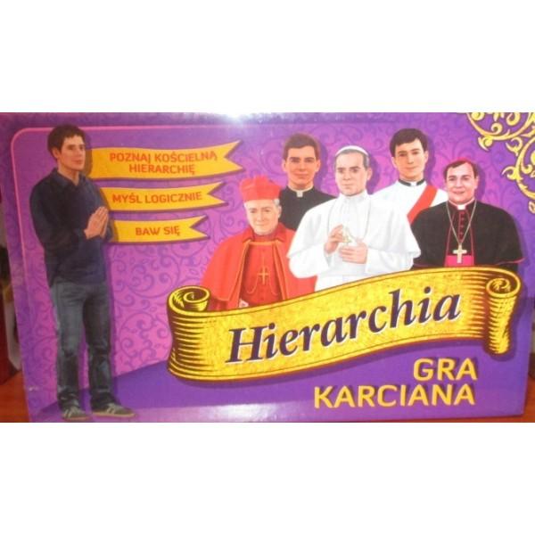 HIERARCHIA, GRA KARCIANA