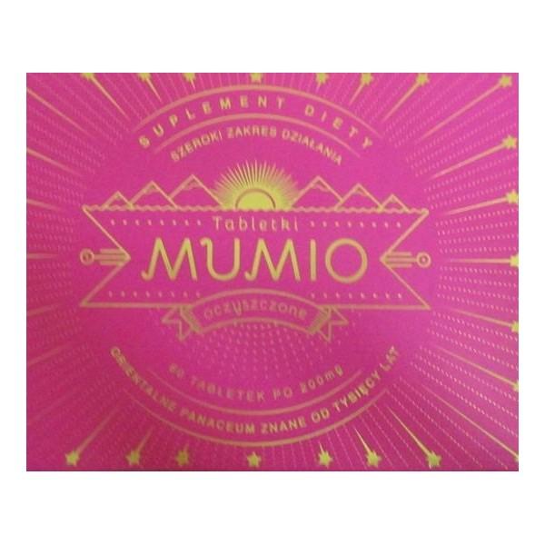 MUMIO oczyszczone- orientalne panaceum w tabletkach 60 szt. suplement diety