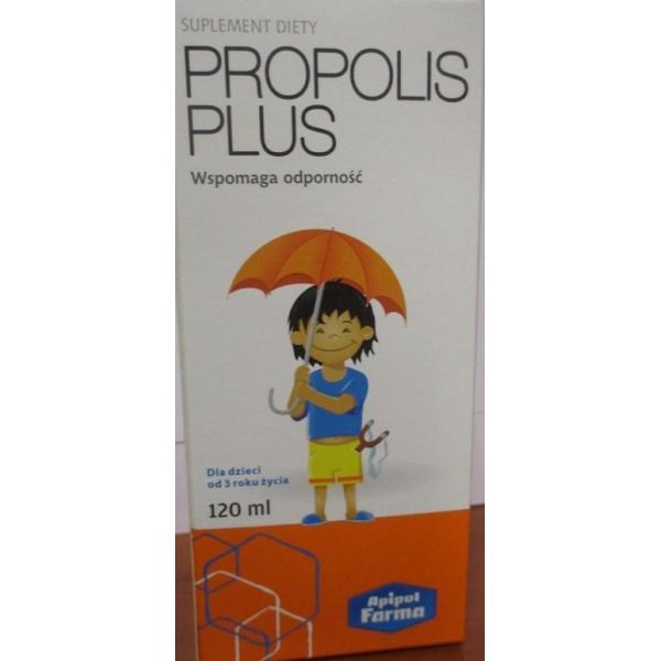 SYROP PROPOLIS PLUS-Wspomaga odporność. Dla dzieci od 3 roku życia, 120ml