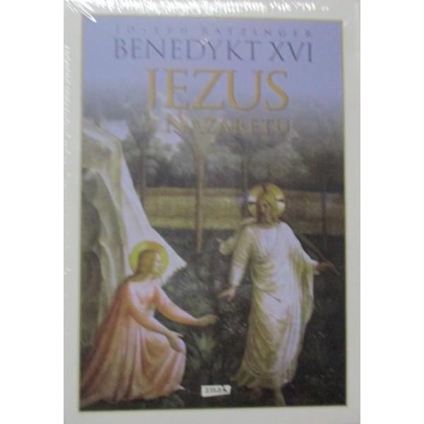 BENEDYKT XVI JEZUS Z NAZARETU TRZY TOMY BESTSELLEROWYCH MEDYTACJI