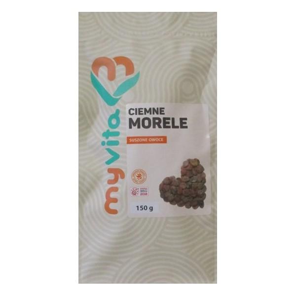 CIEMNE MORELE SUSZONE OWOCE 150 G